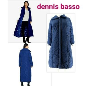 NEW Jacket Dennis basso puffe coat (s,xs,xxs) navy